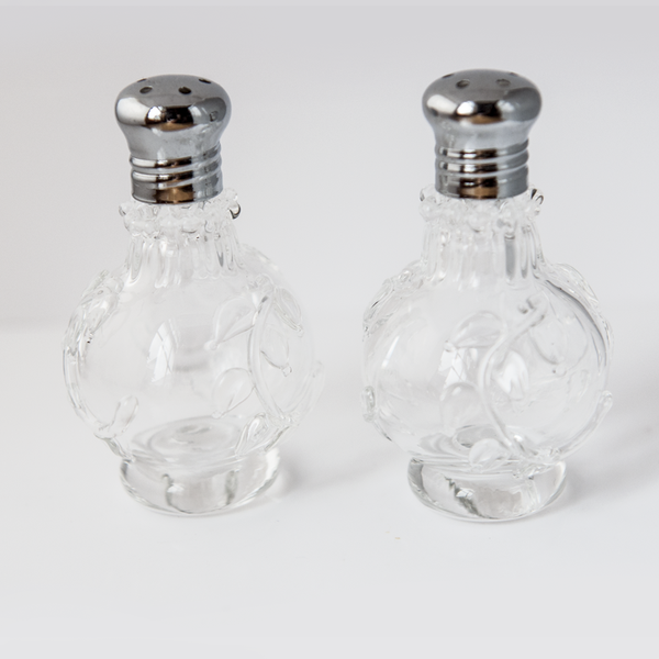 Clear Vines Salt & Pepper Shaker Set