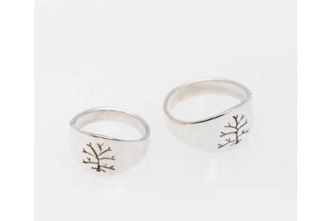 Tree of Life: Women's  Sterling Silver Ring