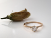 Say Yes!: Diamond Engagement Ring in 14k Yellow Gold