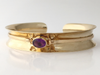 McLaughlin Garden: Maine Amethyst 14K Yellow Gold Bracelet
