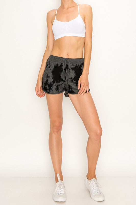 Lounge Shorts - Dark Tie Dye