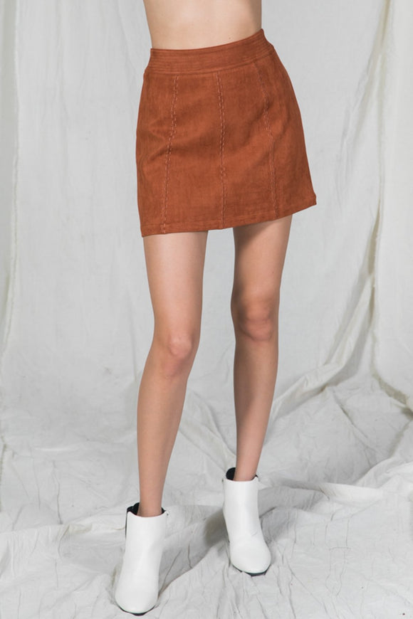 Rust Romantic Skirt