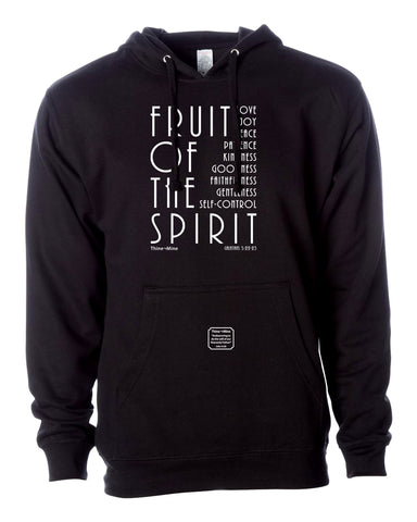 """Fruit of the Spirit"" S2 Thine¬Mine Hooded Sweatshirt"