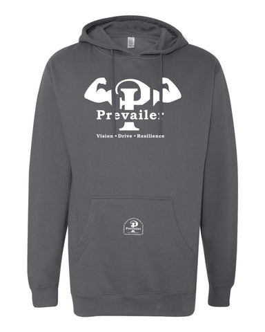 """Prevailer Hardcore"" Hooded Sweatshirt"