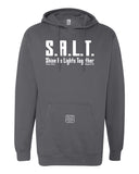 """SALT: Shine As Lights Together"" Thine¬Mine Hooded Sweatshirt"