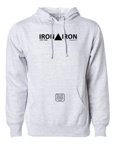 """Iron Sharpens Iron"" Thine¬Mine Hooded Sweatshirt"