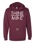 """Thine¬Mine"" R2 Hooded Sweatshirt"