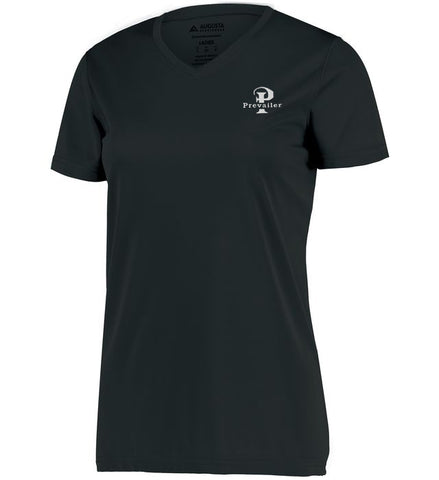 """Prevailer Classic"" Ladies Embroidered Wicking Tee"