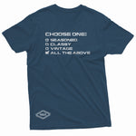 """Choose One"" W & E Tee"