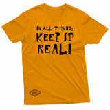 """Keep It Real"" W & E Tee"