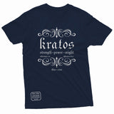 """Kratos Power"" Thine¬Mine Tee"