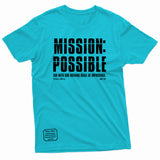 """Mission Possible"" Thine¬Mine Tee"