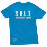"""SALT: Shine As Lights Together"" Thine¬Mine Tee"