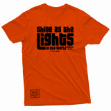 """Shine As the Lights"" Thine¬Mine Tee"