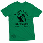 """Soar on Wings Like Eagles"" Thine¬Mine Tee"