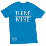 """Thine¬Mine"" R2 Themed Tee"