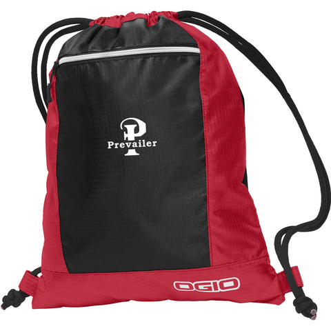 """Prevailer"" Embroidered Pulse Cinch Pack"