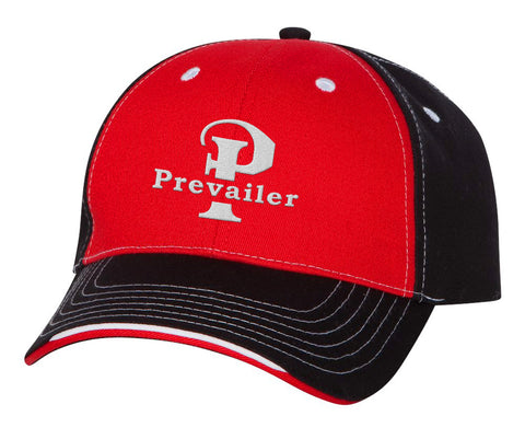 """Prevailer Classic"" Embroidered Tri-Color Hat"