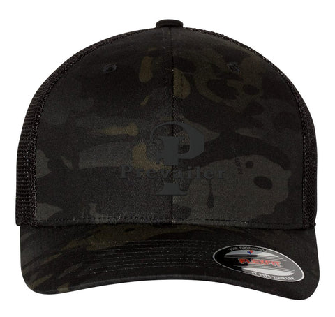 """Prevailer Classic"" Black Ops Embroidered Trucker Hat"