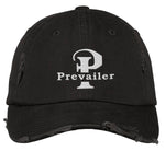 """Prevailer"" Embroidered Distressed Hat"