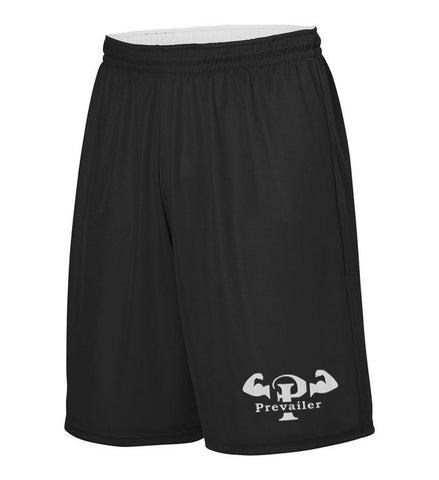 """Prevailer Hardcore"" Embroidered Wicking Shorts"