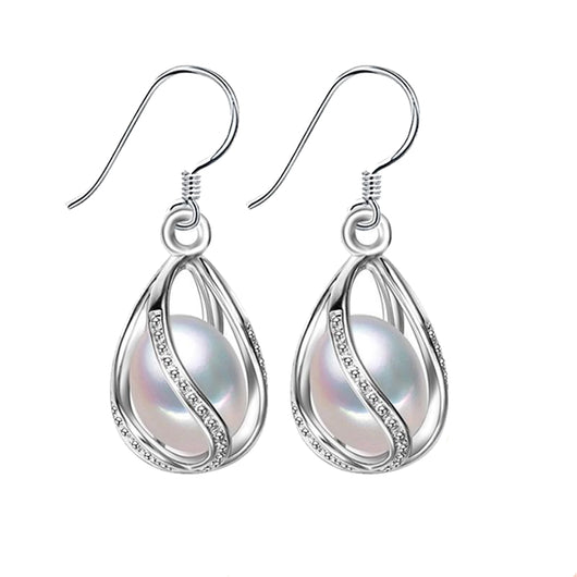 Grace Pearl Drop Earrings - Dreamnovate