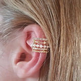 Elizabeth Pearl Ear Cuff - Dreamnovate