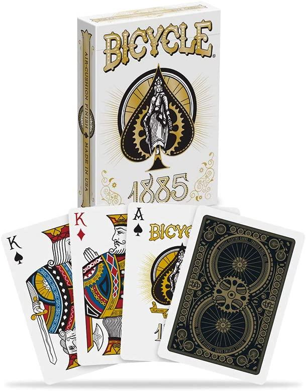 1885 Bicycle Playing Cards by Bicycle