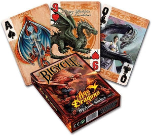 Anne Stokes Age of Dragons Playing Cards by Bicycle