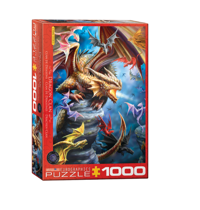 Anne Stokes: Dragon Clan - 1000 piece