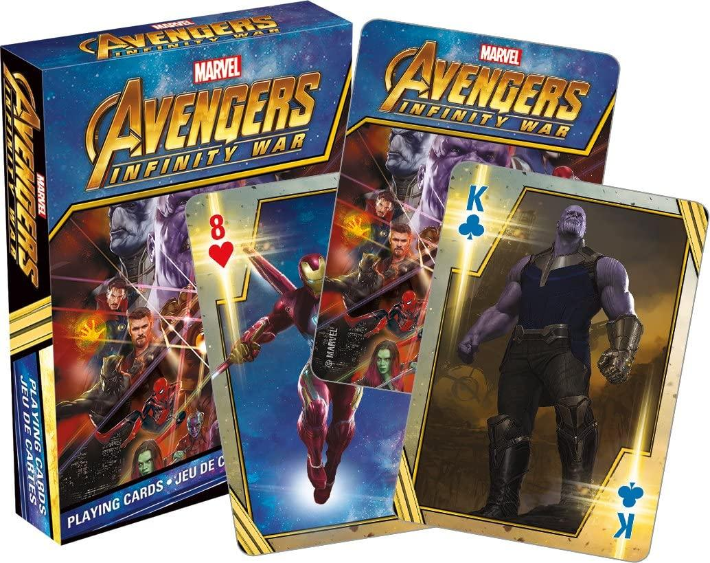Avengers - Infinity War Playing Cards