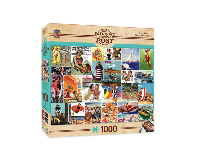 Beachtime Collage - 1000 piece
