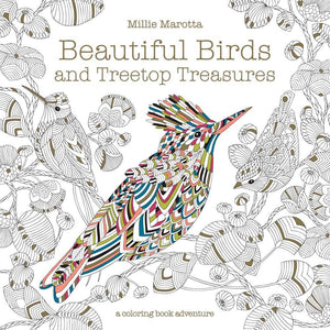 Beautiful Birds and Treetop Treasures Coloring Book