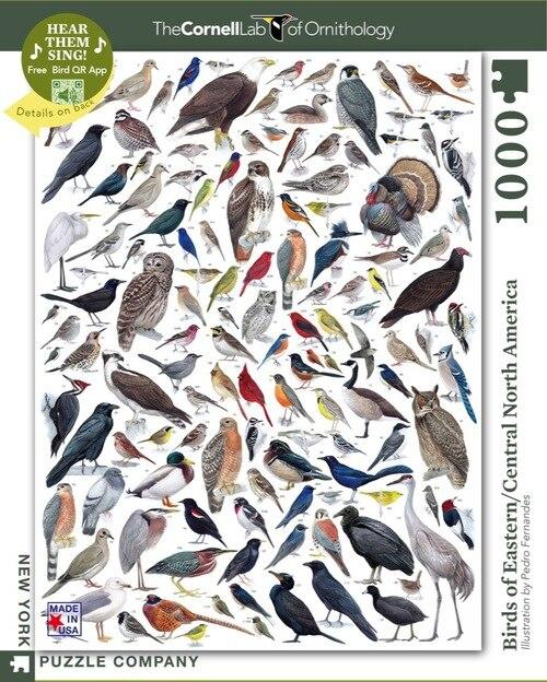 Birds of Eastern/Central North America - 1000 piece