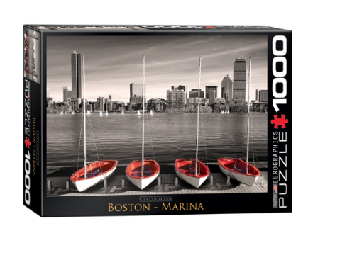 Boston Marina - 1000 piece