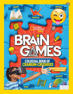 Brain Games Colossal Book by National Geographic