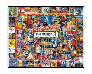 Broadway The Musicals - 1000 piece