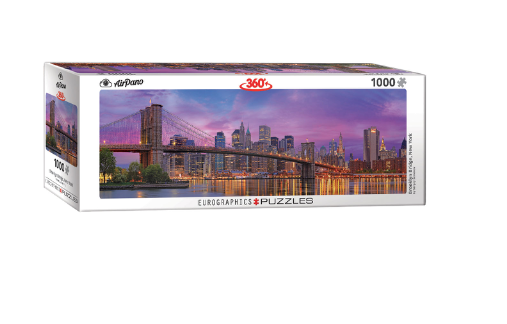 Brooklyn Bridge panoramic - 1000 piece