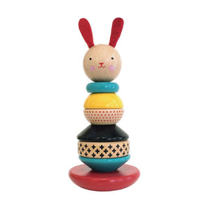Bunny Stacker Wooden Stacking Toy