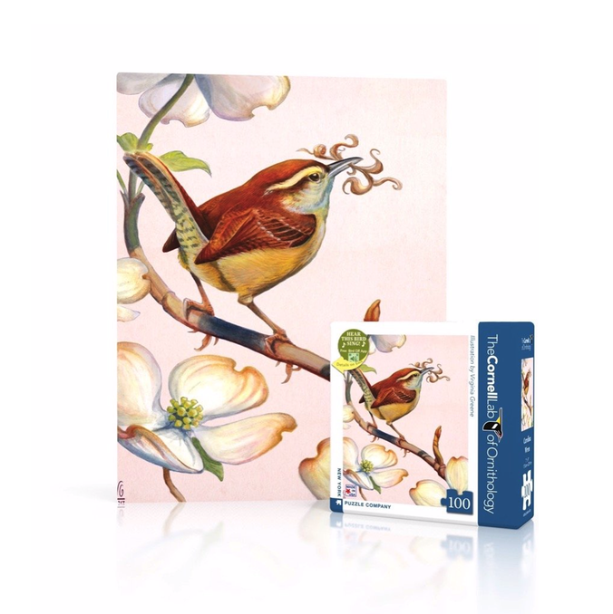 Carolina Wren mini - 100 piece