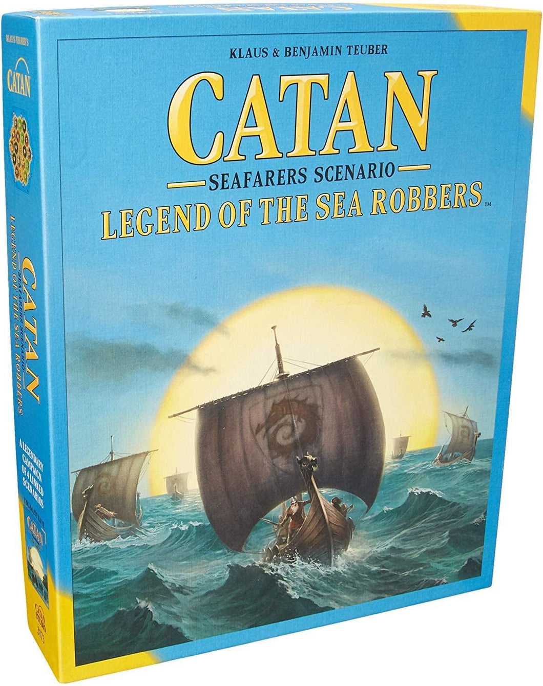 Catan: Legend of the Sea Robbers Expansion/Scenario