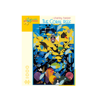 Load image into Gallery viewer, Charley Harper - The Coral Reef - 1000 piece
