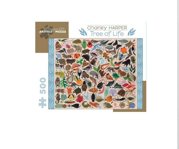 Charley Harper: Tree of Life - 500 piece
