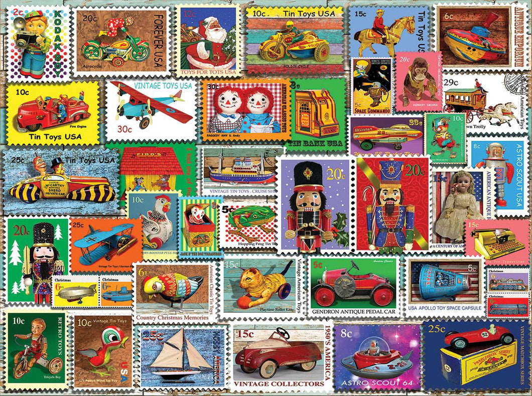 Christmas Toy Stamps - 1000 piece
