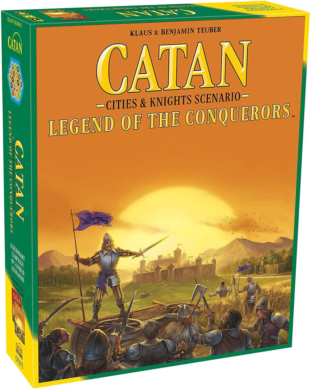 Cities & Knights Catan 5th Expansion