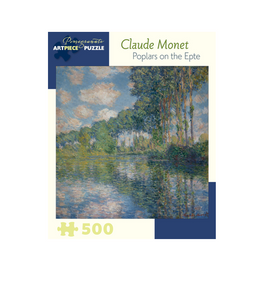 Claude Monet: Poplars on the Epte - 500 piece