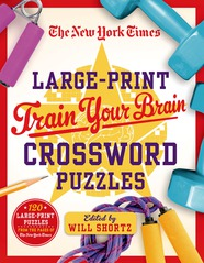 Crossword NYT Large Print Puzzles  288 Pages