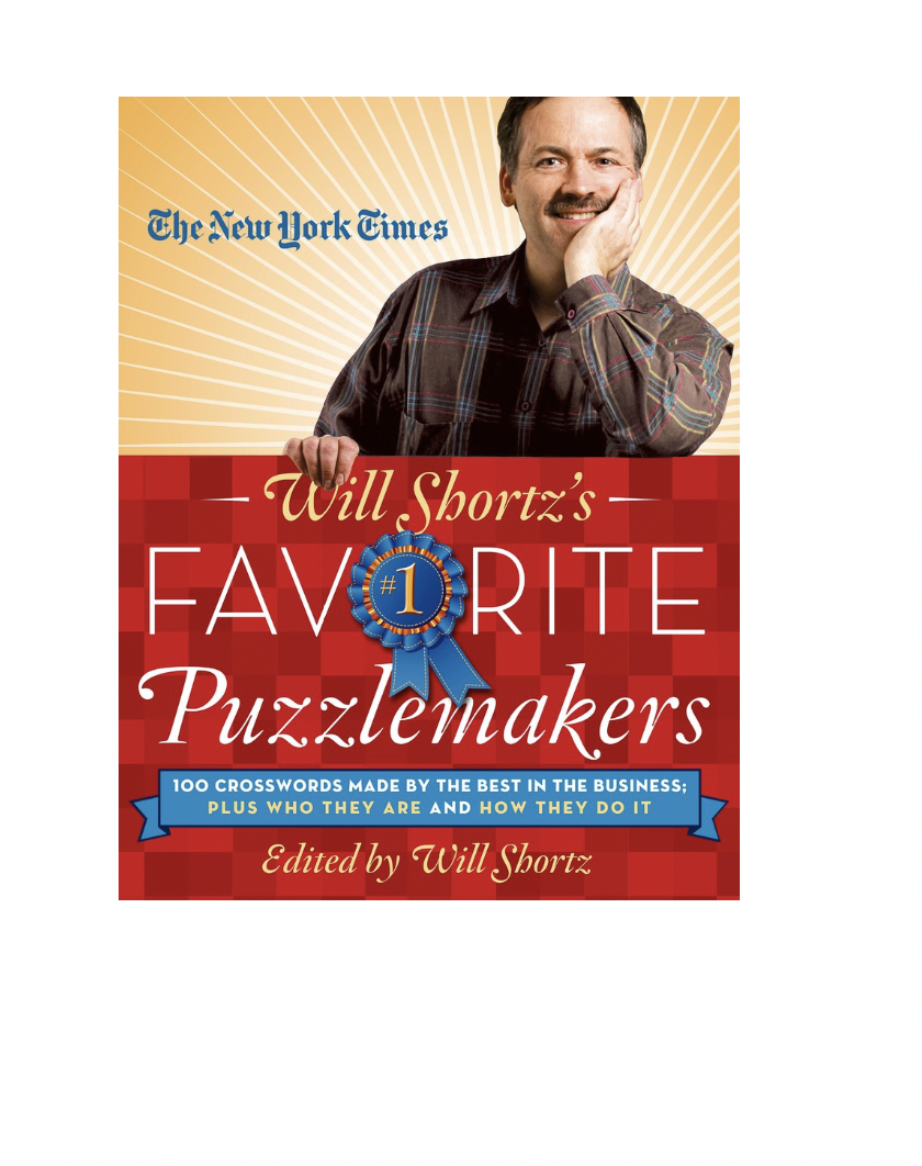 Crossword Will Shortz Favorite Puzzlemakers