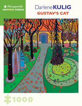 Load image into Gallery viewer, Darlene Kulig: Gustav's Cat - 1000 piece