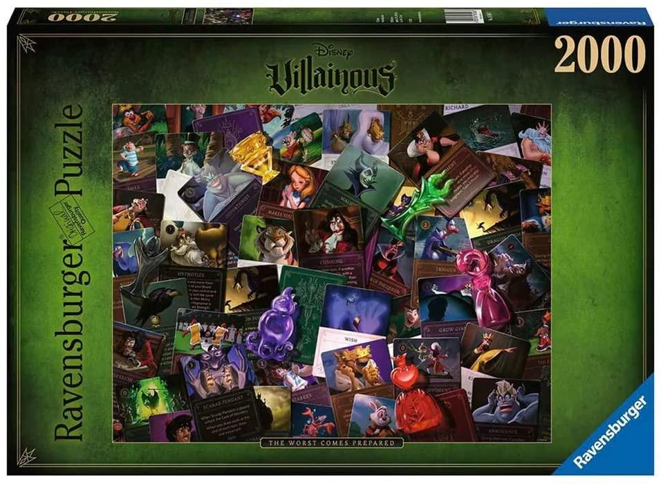 Disney Villainous: All Villains - 2000 piece
